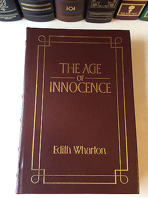 The Age of Innocence by Edith Wharton - leather bound