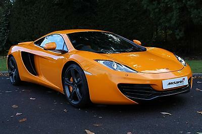 2012 McLaren MP4-12C V8 Coupe with High Specification Petrol orange Semi Automat