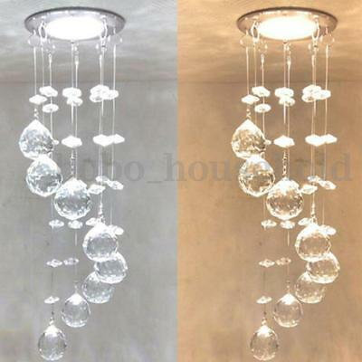 Small Chandelier Lamp: 3W LED Crystal Ceiling Light Small Chandelier Lamp Pendant Fixture Hallway  Decor,Lighting