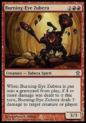 Magic 4X Zubera Occhio Di Brace - Burning-Eye Zubera Uncommon Saviors Sok Mtg