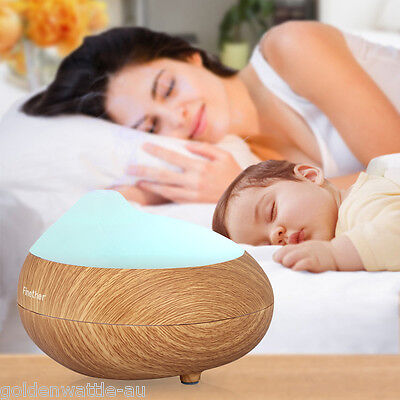 Essential Oil LED Aroma Diffuser Ultrasonic Humidifier Air Mist Aromatherapy AU