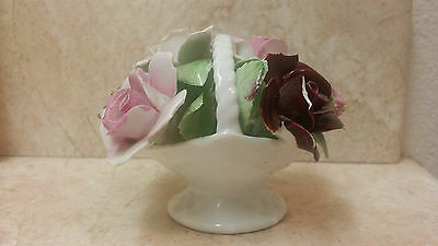 ROYAL DOULTON  Flowers in a basket