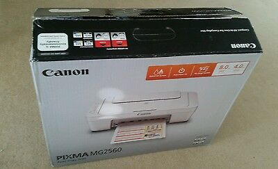 Canon PIXMA MG2560 All in One Inkjet Colour Multifunction Printer Copy Scan