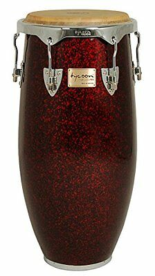 """Tycoon Percussion Concerto Red Pearl 11"""" 3/4"""" Conga including Single Stand"""