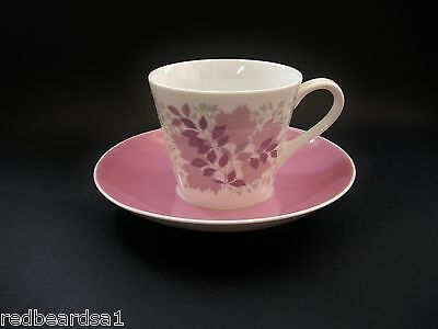 Royal Tuscan Forest Glade Demitasse Coffee Tea Cup Saucer c1960's Bone China