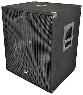 QTX QT18SA 18-Inch 1000 W Active Base Bin with Integral Amplifier