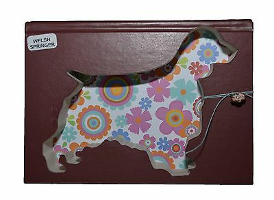 Welsh Springer Spaniel Upcycled Book - 002