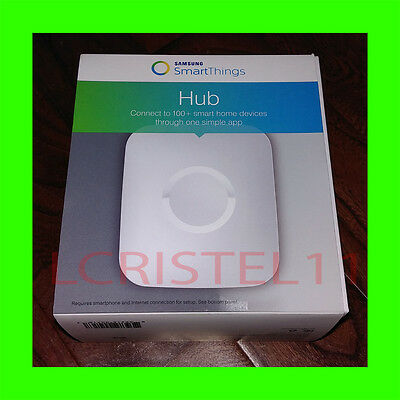 NEW - Samsung SmartThings Hub 2nd Generation Smart Home Automate APPLE ANDROID