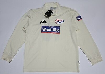 Bnwt Player Issue Beau Casson Men's Nsw Blues Long Sleeve Adidas Cricket Jersey