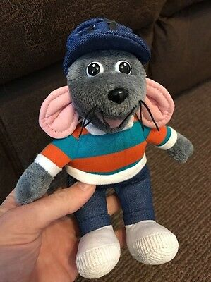 "Roland Rat Super Star 8"" Soft Plush Toy Beanie - Posh Paws Immaculate"