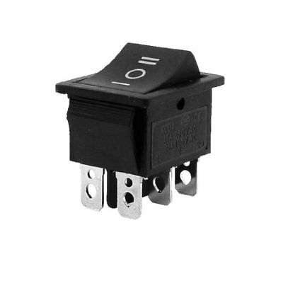 20 amp 115V  6Pin ON-OFF-ON 3 Position DPDT Maintained Rocker Switch  US Seller