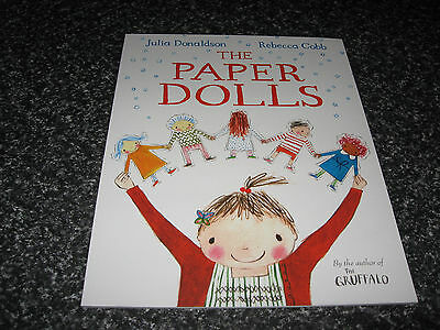 The Paper Dolls  By Julia Donaldson Softcover Brand New
