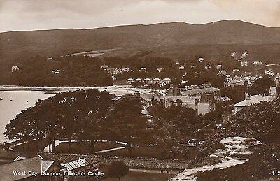 Scotland - Argyllshire - Dunoon - West Bay From The Castle - Real Photo