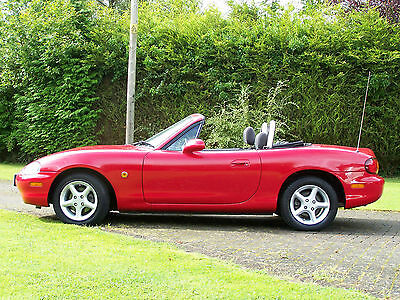 Stunning 1999 Mazda Mx-5 Mark 2 1.8 47000 Miles Mot 6/17 Delivery Included