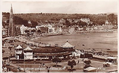 Rothesay - The Winter Gardens - Real Photo By Valentines