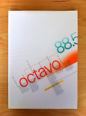 Octavo Journal of Typography - issue 5, lowercase issue, 1988