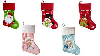 Personalised Christmas Stocking High Quality Deluxe Xmas Stocking
