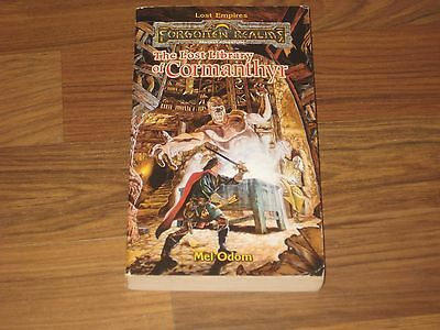 Forgotten Realms Novel Lost Empires 1 The Lost Library of Cormanthyr TSR 1998 G