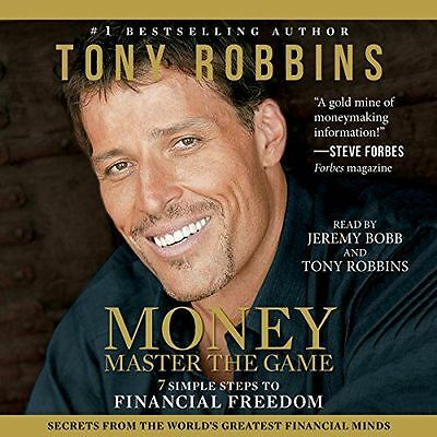 MONEY: Master The Game by Tony Robbins AUDIO BOOK_ 7 Steps To Financial Freedom