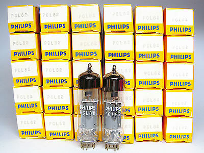 Matched Pair Pcl82-16A8-Philips-Made By Mullard Blackburn-Nos-New-Own Boxes
