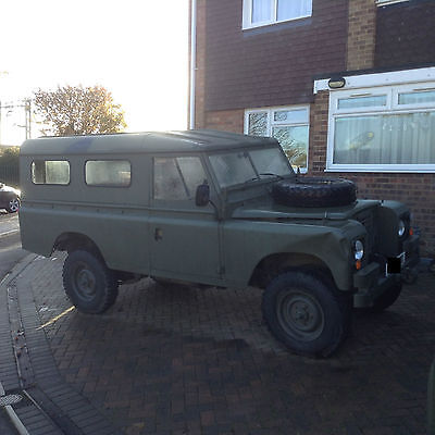 Military Landrover 109, hardtop, low mileage, 2.25 petrol, great runner
