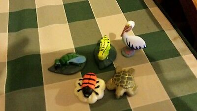Cadbury Yowie toy animal collection