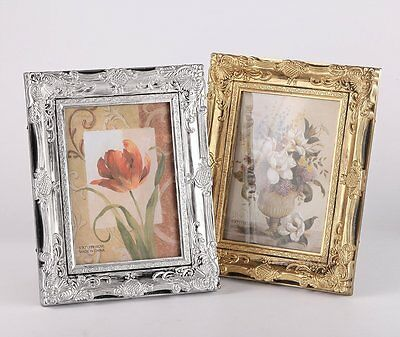 Vintage Ornate Baroque Rococo-style Photo Picture Frame