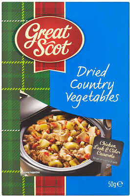 Great Scott Dried Country Vegetables 3 x 50g