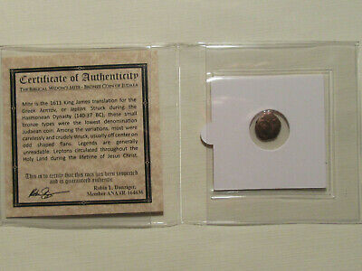 The Widows Mite 2000 year old coin Bible story gift for religion Christian 52