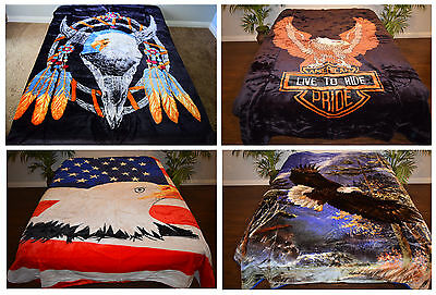 QUEEN EAGLE Korean Style Soft Mink Blankets Pick your design BUY 3 GET 1 FREE