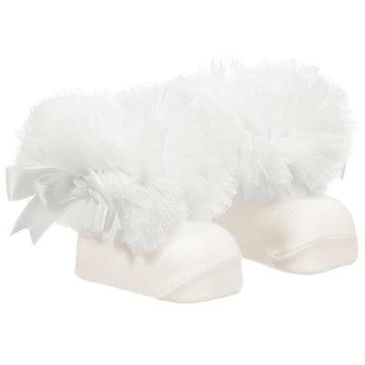 Stunning Baby Girl Spanish Tutu Frilly Ankle Socks/Couche Tot/ From Newborn