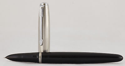 Parker 21 Fountain pen Black. Made in USA.