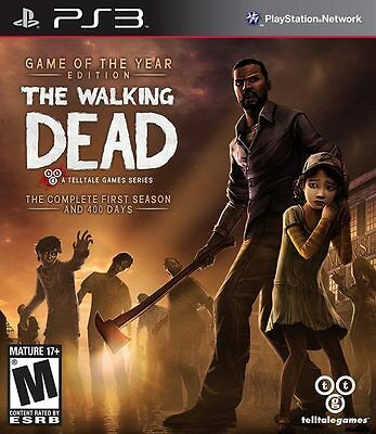The Walking Dead Game of the Year PS3 Game Brand New & Sealed