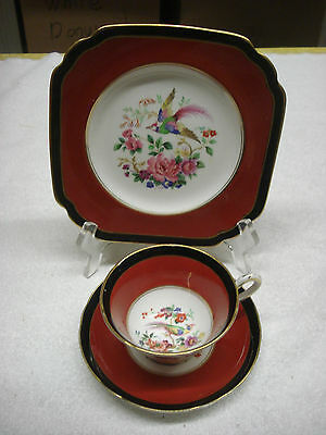 J&G Trio TEACUP SAUCER & SIDE PLATE Ye Olde English 6 avail. Made In England TR5