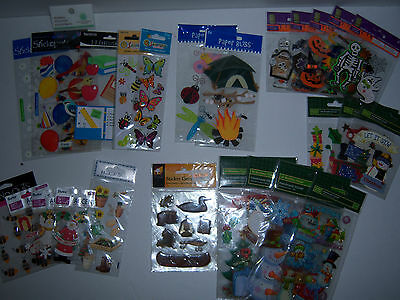 409 Packages of Scrapbooking Stickers (only 73 cents a pack)