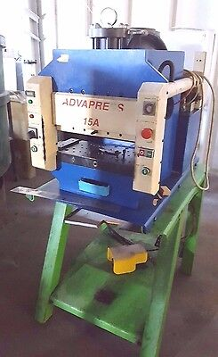 Advapress 15 Ton Hydraulic Coining Stamping Assembly Press