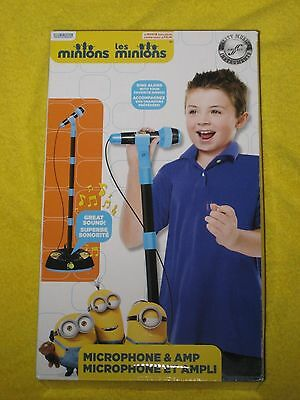 First Act MN425 Minions Microphone and Amp, New in Box!