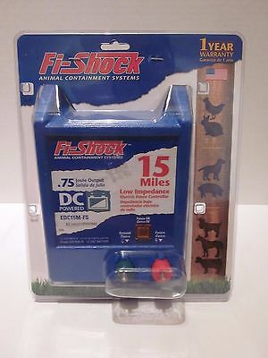 Fi-Shock Animal Containment System EDC15M-FS 15 Miles Electric Fence New