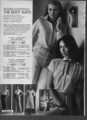 Vintage Catalog Leotard Tights Photo Clippings