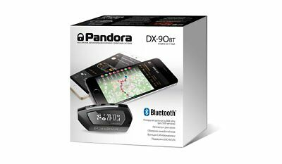 PANDORA DX90BT, 2-way,CANx2,LIN,Bluetooth 4.2,CLONE, car alarm, autostart,868Mhz