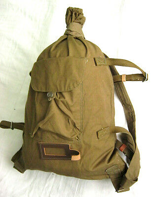 Soviet Russian Army Military Canvas Bag, Backpack Veshmeshok USSR NEW