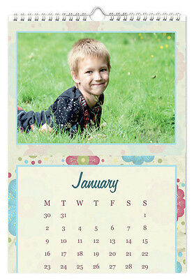 Personalised A4 Calendar - 13 Pages - With Your Photos