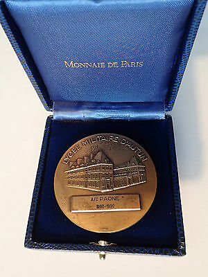 Medaille - Lycee Militaire D'autun  (5538J)