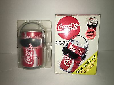 1991 Break Dancing Coca-Cola COKE Can Spins & Grooves to Music Sound By Takara
