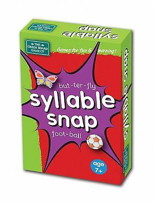 Syllable Snap Card Game for Children - Literacy Teaching Resource g16