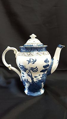Vintage Booths Real Old Willow Coffee Pot A8025