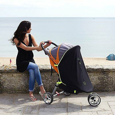 SnoozeShade Original sunshade blind fits most single prams blocks 99% UV