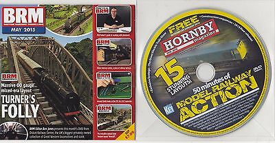 BRM (British Railway Models) May 2015 Turner's Folly + 2016 Hornby Action DVDs