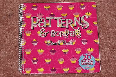 Craft patterns & borders stencil book - 12 pages of patterns/borders