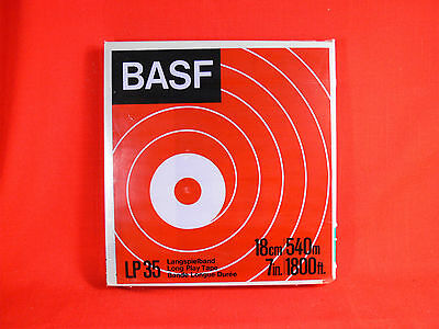 BASF LP35 Blank Reel to Reel Audio Tape 18cmx540m Made in Germany - NEW & SEALED